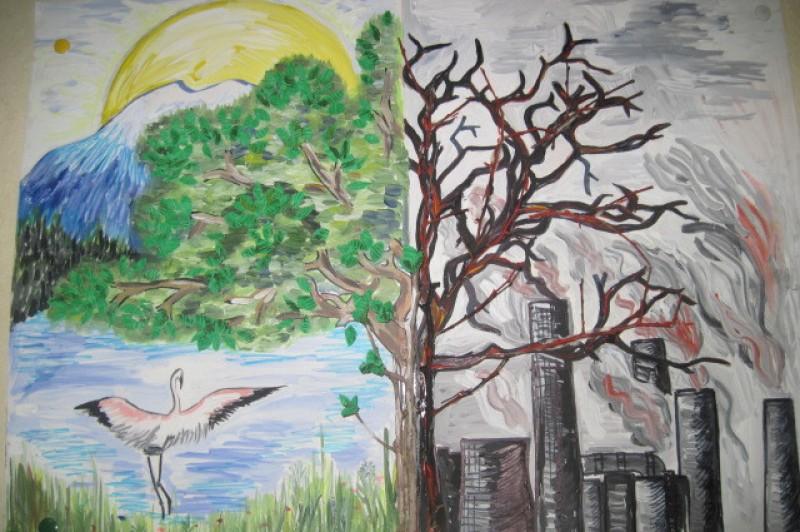 Картинки об экологии 3 класс, китай надписью